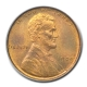 1909 1C Lincoln Cent - Type 1 Wheat Reverse PCGS MS66RD